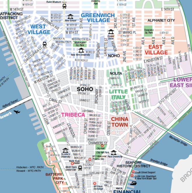 Free Tours By Foot Nyc Soho Little Italy And Chinatown Travel